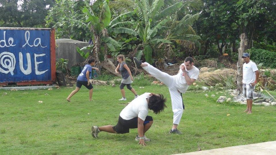 Simply Capoeira Auckland Outdoor Class